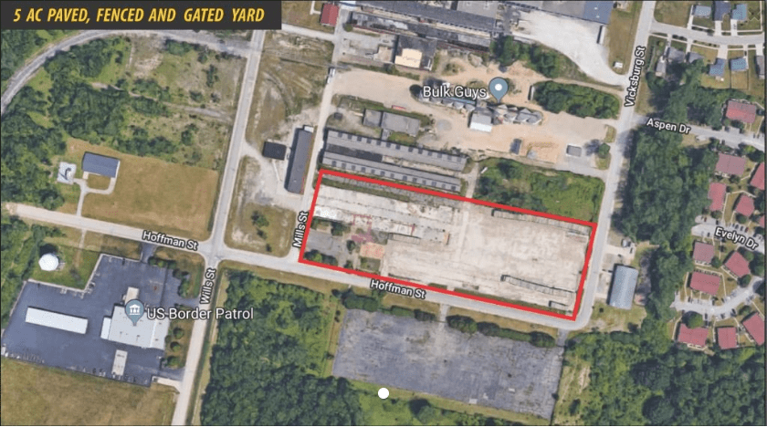 5 AC Zoned for heavy truck parking, - immediate possession - land contract terms available