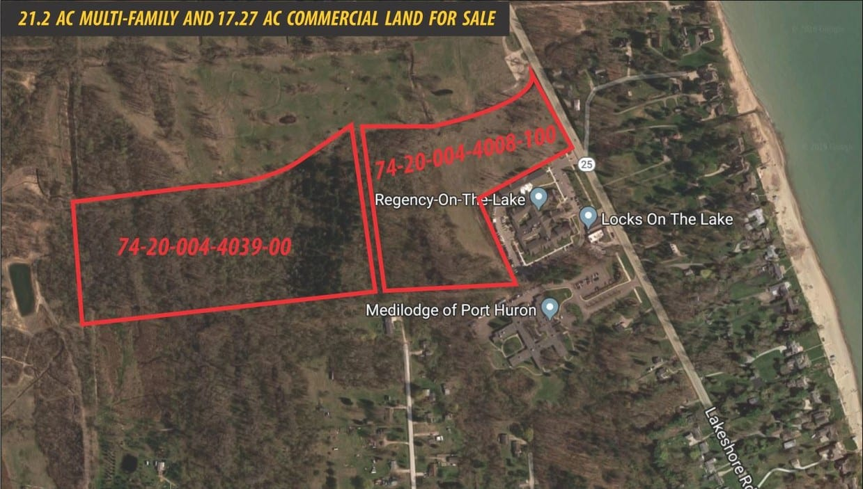 17.27 Acre Commercial Land For Sale